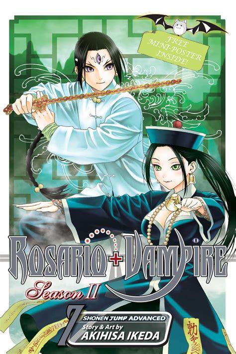 rosario vire season 2 rosario season ii vol 7 book by akihisa ikeda