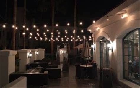 led patio lights extend your summer with deck and patio lighting from
