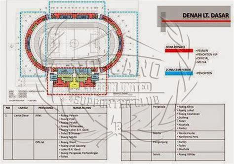 volcano cilegon supporter club desain stadion  kota