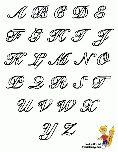 fancy cursive letters drawing fancy alphabet letters a