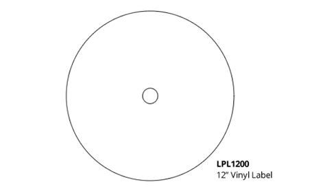 Templates For Oasis Vinyl Packages 7 Inch Vinyl Record Label Template