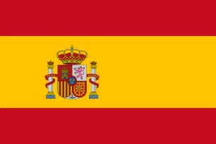 spain colors flag from the flags of the world database
