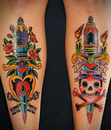 grez tattoo tattoome dagger by grez i want more tattoos