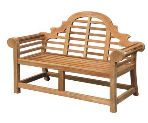 lutyens teak bench rydal lutyens style teak bench anglia signs