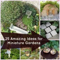 garten accessoires 25 accessories for miniature gardens