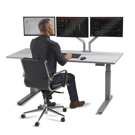 ergonomic sit stand desk sit stand desk best adjustable desk for tech lovers