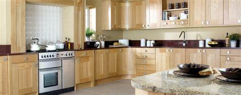 Designer German Kitchens by Burbidge Lansdowne Natural Oak Kitchen Republic