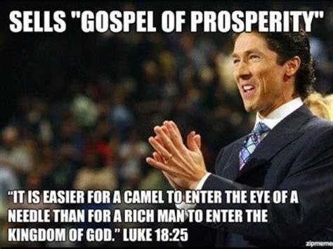 Gospel Memes - chris rosebrough heretic joel osteen says he doesn t
