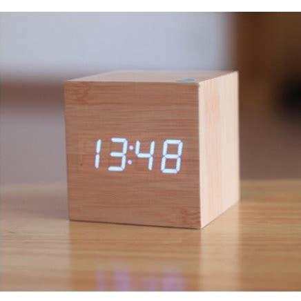 Jam Digital Led Kayu Jk 808 jam digital led kayu jk 808 brown jakartanotebook