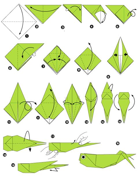 How To Make An Origami Peacock Step By Step - 메뚜기의 종이 접기