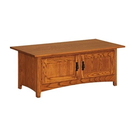 mission coffee table mission cabinet coffee table