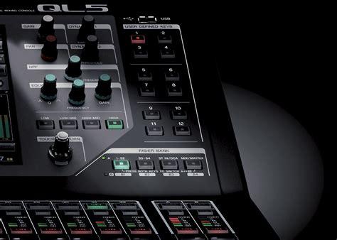 Mixer Yamaha Ql 5 ql series mixers products yamaha