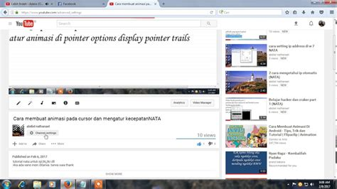 cara mempercepat upload video di youtube cara menghapus vidio yang sudah di upload di youtube youtube