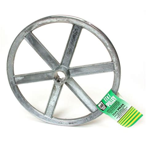 11 in x 1 in evaporative cooler blower pulley 6330