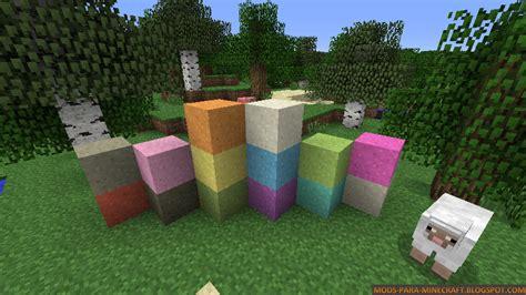 colored glass minecraft colored glass mod para minecraft 1 6 2 1 6 4 mods para