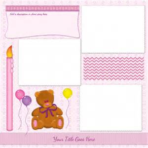 Free Scrapbooking Templates To by Free Scrapbook Templates