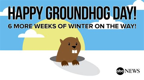 groundhog day meaning of morning america on quot just in punxsutawney