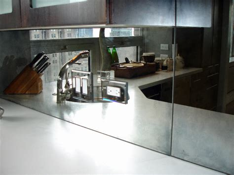 mirror kitchen backsplash mirror backsplash