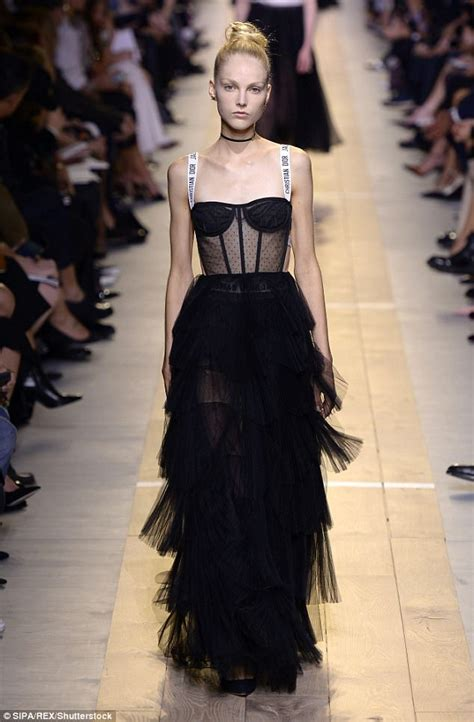 7 Extremely Cool Clothes I From Couture by See Through Dress Is Sweeping The Carpet Daily