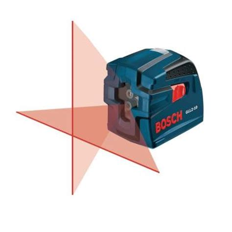bosch cross line self leveling laser level gll2 10 the