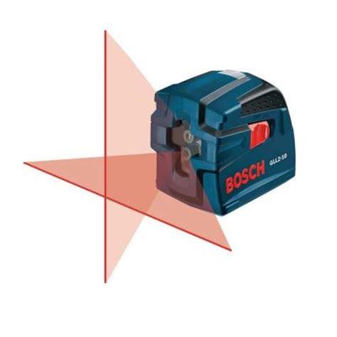 home depot laser level bosch cross line self leveling laser level gll2 10 the