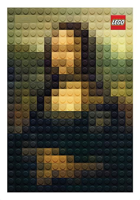 lego painting lego versions of artworks are so great they re now