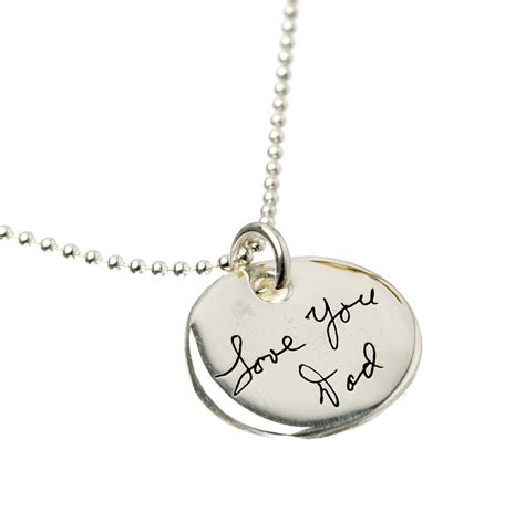 how to make personalized jewelry aj s collection personalized jewelry custom handwriting