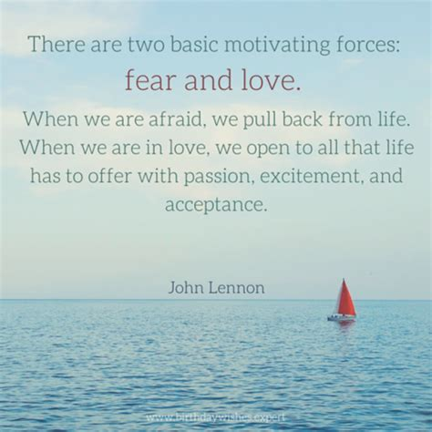 we are in love fear and love the daily quotes