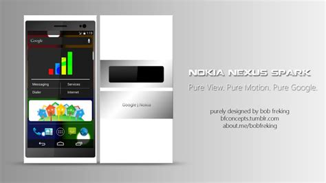 nokia android phone concept nokia nexus spark concept pictures specs android 5 0