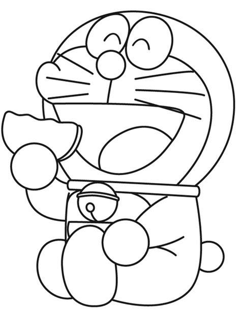 Doraemon And Friends Hitam by Gambar Mewarnai Doraemon 2 Children Dan
