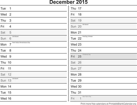 december 2015 printable calendar template calendarios december 2015 free printable calendar calendarios para