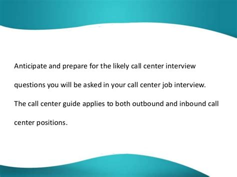 common call center questions and answers