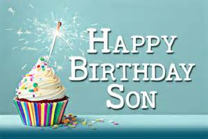 Happy birthday wishes for your son card from llerrah ecards