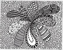 Black and White Abstract Drawings