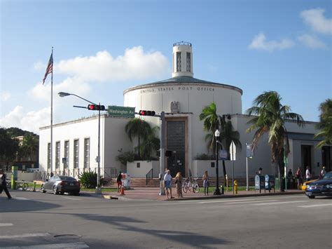 Miami Post Office by Miami Florida Post Office Post Office Freak