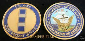 Navy chief warrant officer 4 challenge coin uss cwo4 pin up promotion