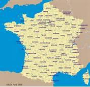Carte D&233taill&233e De France