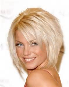 Haircut layered short hairstyles for round faces hnczcyw com