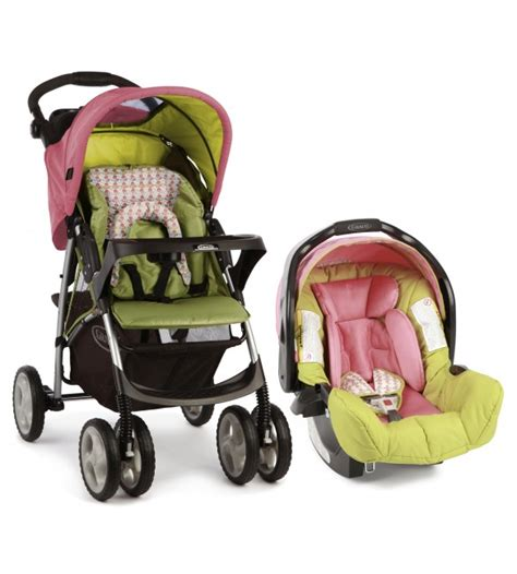 Gracotravel System Mirage Plus With Parent Tray Up To Date dumyah baby strollers graco travel system mirage plus circus graco