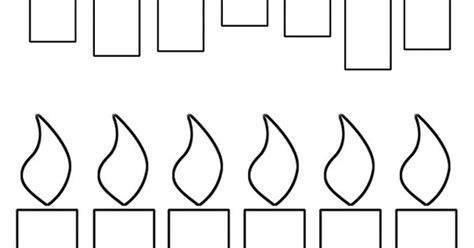 candle template printable advent candles clip search results