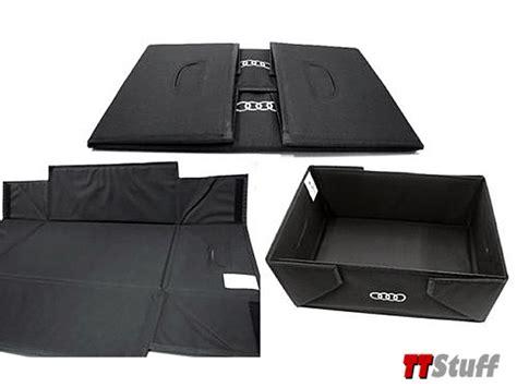 Audi Cargo Box audi tt stuff audi interior cargo box oem 0611098u0