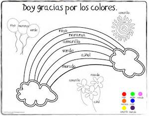 World languages for kids spanish thanksgiving vocabulary coloring