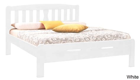 White Wooden Bed Frame Singapore Orza Wooden Bed Frame Beds Bedroom Furniture Sets Furniture Home D 233 Cor Fortytwo