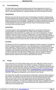 Photos of Sample Marketing Plan