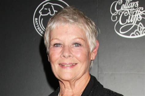 judy dench teeth judi dench teeth bbc news dame judi dench visits dentist