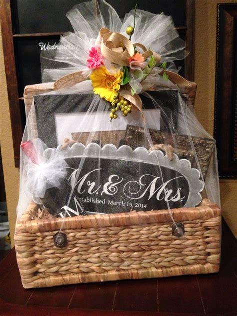 Best 25  Wedding gift baskets ideas on Pinterest   Bridal