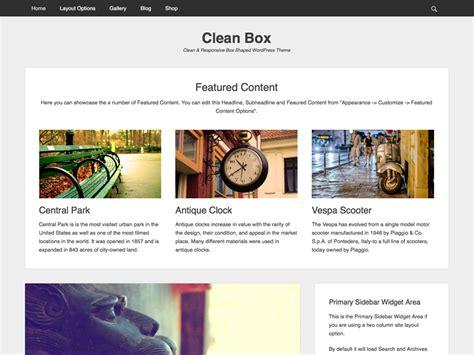 wordpress theme generator kostenlos deutsch clean box wordpress org
