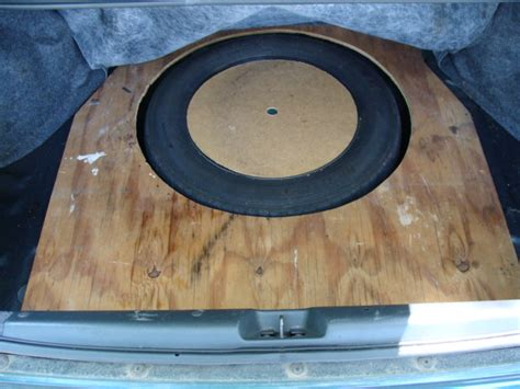 honda civic spare tire size will size spare tire fit in a 6th civic trunk
