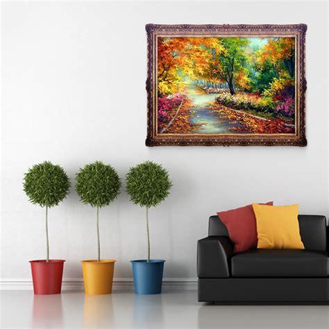 Autumn Intl autumn scenery 5d diy painting craft kit home