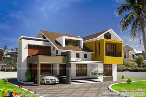 homedesign com modern minimalist villa in kerala kerala home design and